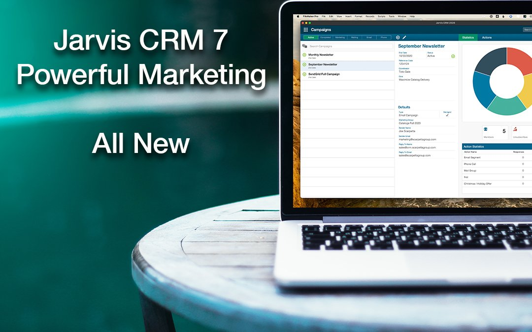 Jarvis's Marketing More Powerful than Ever! New Version 7